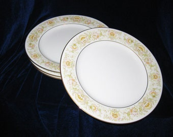 Noritake Bread And Butter Plates Pattern May Garden 2355 (5)