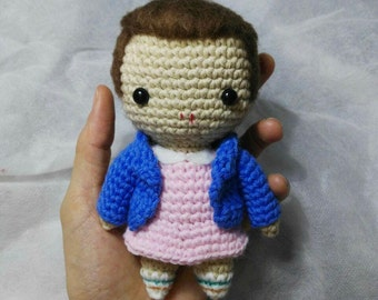Eleven amigurumi - Stranger Things