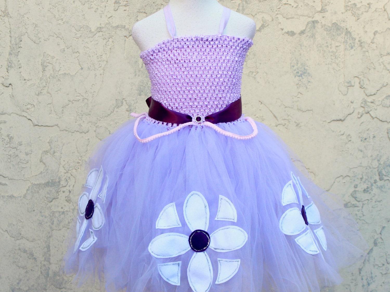 Sofia die erste Disney Princess Lavendel Ballkleid Festzug