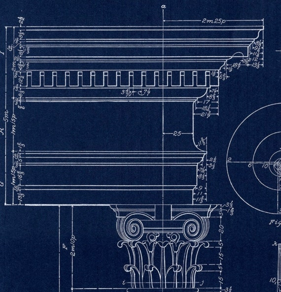 Blueprint print composite order drawing blueprint art fine blueprint print composite order drawing blueprint art fine art print architecture wall poster art drawing and illustration blueprint malvernweather Images
