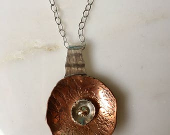 Organic Form Necklace