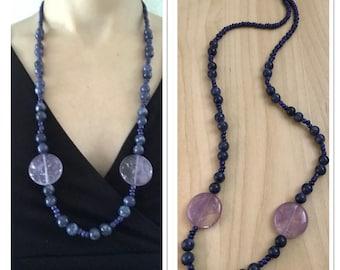 Necklace with Jasper Stones