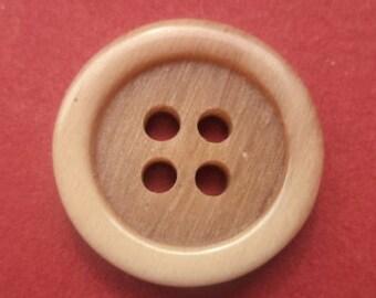 14 light brown buttons 18mm (3859) button Brown