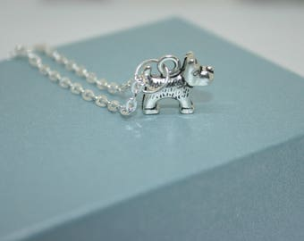 Cute Dog Necklace, Dog Jewellery, Animal Jewellery, Scottie Dog Necklace, Dog Lovers Gift, Pet Jewellery