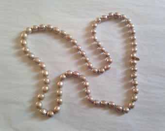 CHANEL - Fancy signed and dated 94 beads necklace