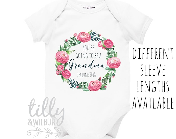 You're Going To Be A Grandma Bodysuit