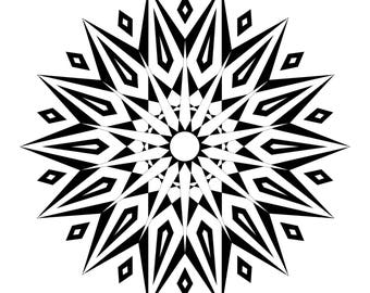 Mandala Original Poster