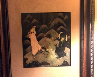 Edmund Dulac / The Firebird /