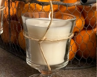 Soy Candle handmade sandalwood scented