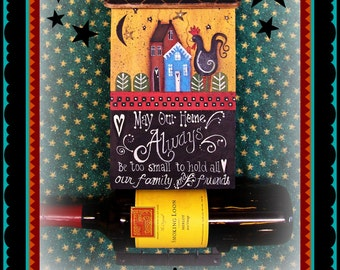 Apple Tree Cottage Original Design E Pattern - Mailbox Wine Holder