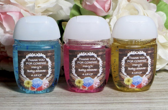 Perfect Rustic Baby Shower Favor Labels Boho Baby Shower Hand