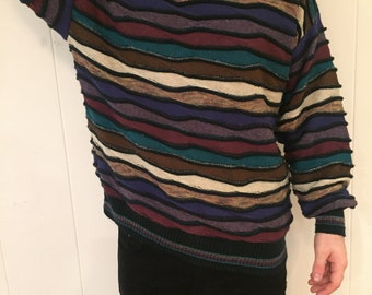 Vintage 80's Alberto Danti loose feel sweater
