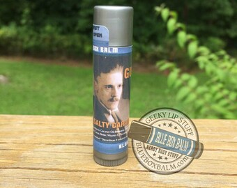 Gudgett - Salty Caramel Flavor - Houdini & Doyle Inspired Lip Balm - Sgt. George Gudgett