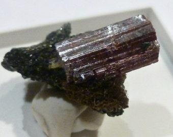 SUPERB RUTILE CRYSTAL - Scotland - Natural mineral specimen lc38 eb c