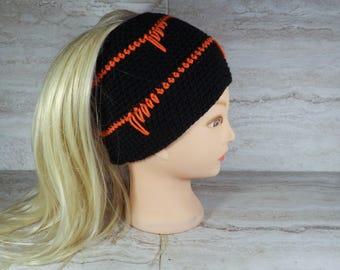 Spike Stitch Beanie Crochet Pattern **PDF Pattern Only** Messy Bun Hat Hat Pattern in 2 Sizes