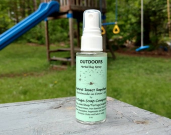 Herbal Bug Spray - All Natural Insect Repellent - Bug Off - Bug Be Gone - Bug Away - Pure Essential Oil Mosquito Repellent - Deet Free