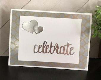 Wedding Celebration/Handmade Greeting Card