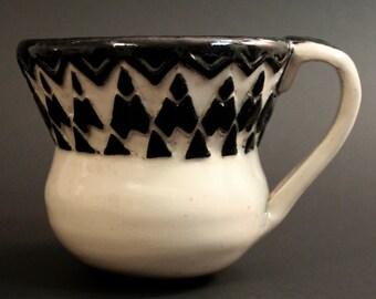 Small Carved Mug