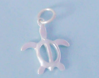 Sterling Silver Sea Turtle Charm / Pendant