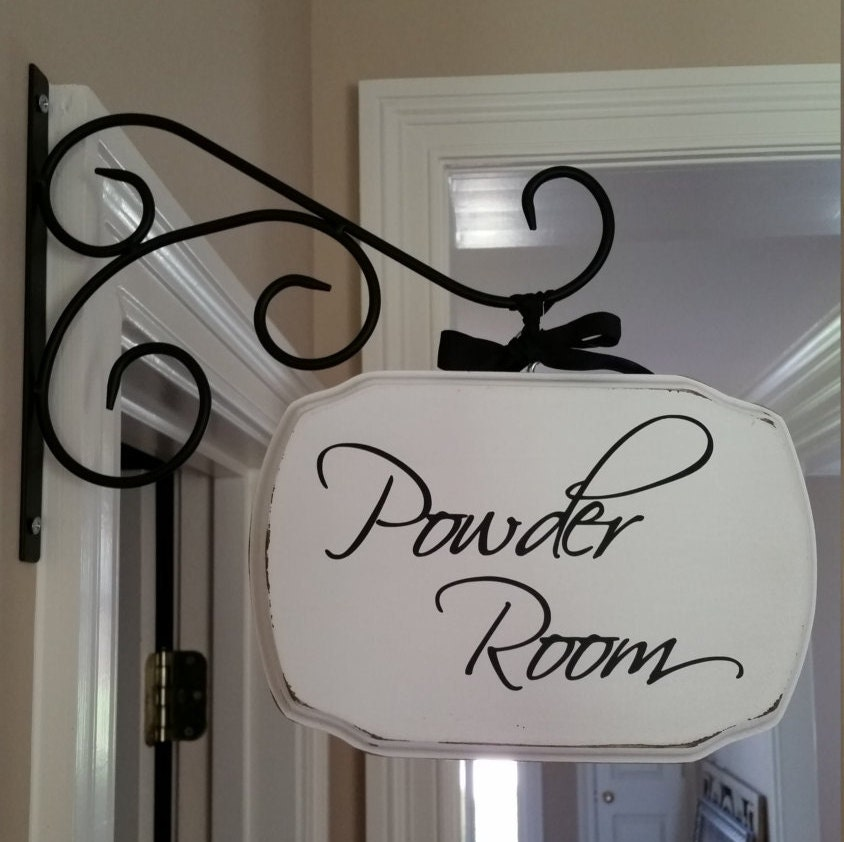 Hanging Laundry Sign Powder Roomlaundry Roompantryguest Room Plaque With Or