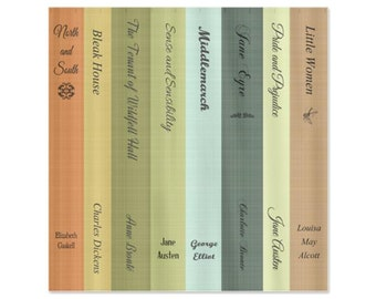 Classic Book Lovers for Girls Shower Curtain - Bathroom Kid's Children's