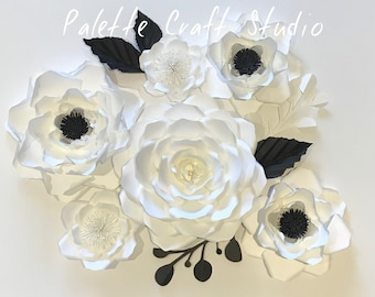 Paper Flower Backdrop, wedding decoration, home decor, paper flower, wedding flowers, wall installation, photo zone, photo booth