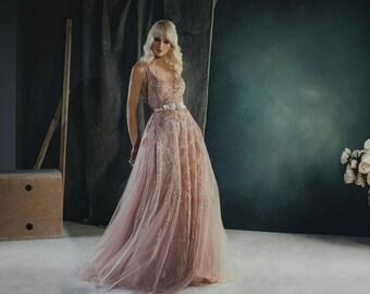 Wedding dress,long