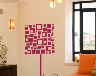 Square Lamp - Vinyl Wall Decal