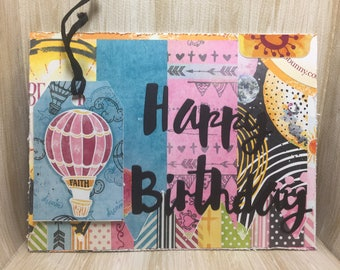 Crazy Card Pack//Pack of 4//Handmade Cards