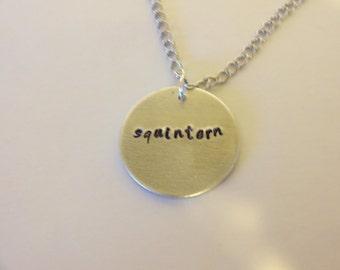 Squintern BONES TV Show Necklace Pendant David Boreanaz Emily Deschanel Squints Jewelry
