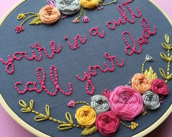 My Favorite Murder Embroidery