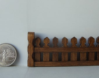 Wooden Scenery - fence, figure replacement (cuckoo clock)