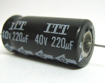 Electrolytic capacitor 220uF 40V