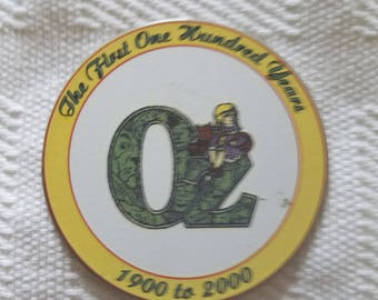 Oz Centennial Magnet - prototype