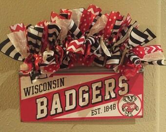 Wisconsin Badgers Sign