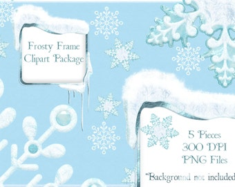Winter Clipart, Winter Wonderland Clip Art, Christmas clipart