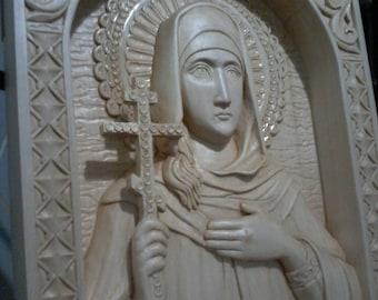 Icon of the saint