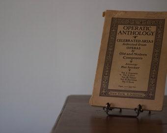 1930's Operatic Anthology
