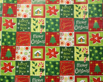 Christmas Paper Quilt