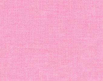 Kaffe Fassett Fabric - Shot Cotton - Rowan - Designer - CT118112- pink - SC83- Modern - 100 Percent Cotton