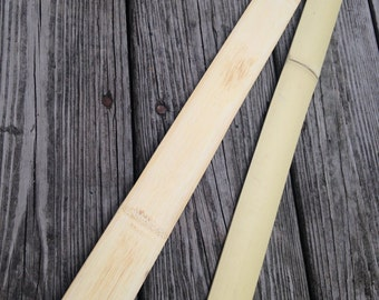 ON SALE --- Bamboo Bow Building Backing Strip! Perfect for Hickory or Osage Bows! Custom Archery!