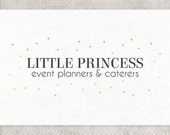 Premade Logo Design | Photography Logo | Website Branding | Simple Logo Design | Blog Logo | Boutique Logo | Gold Logo | Minimalist Design