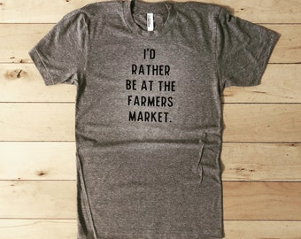 WOMENS 'farmers market' tee