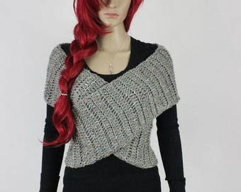Very cute and stylish crochet wrap