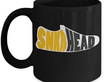 Sneaker Head Coffee Mug - Gift for Sneaker Collector Friend - Novelty Tea Cup