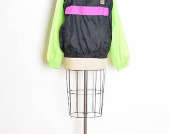90s ocean pacific, vintage 90s windbreaker, neon windbreaker, pullover jacket, 90s surf clothing, nylon windbreaker, 90s jacket, early 90s