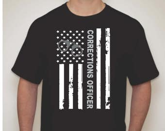 Corrections Officer Shirt-Correctional Officer Shirt