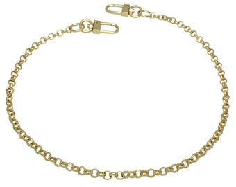 k-craft BG02 Purse chain strap Gold handle shoulder crossbody handbag replacement