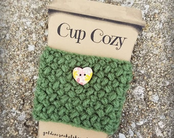 Coffee Cozy * Coffee Sleeve * Coffee gift * To Go Coffee Cozy * READY TO SHIP
