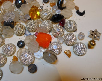 mixed lot antique beads